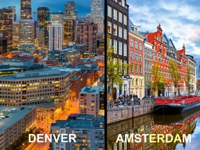 Cannabis Travel: Amsterdam vs. Denver